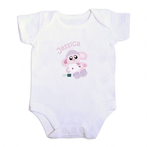 Personalised Cotton Zoo Bobbin the Bunny Vest